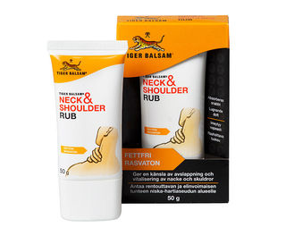Tiger balm Neck & Shoulder Rub – Niska- ja hartiavaivoihin